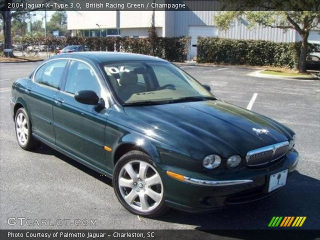 2004 jaguar x type 3 0 in british racing green click to see large. Black Bedroom Furniture Sets. Home Design Ideas