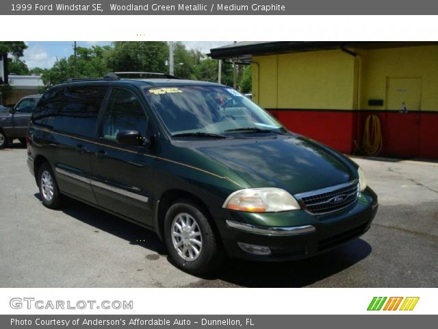 woodland green metallic 1999 ford windstar se medium graphite interior gtcarlot com vehicle archive 29097603 gtcarlot com