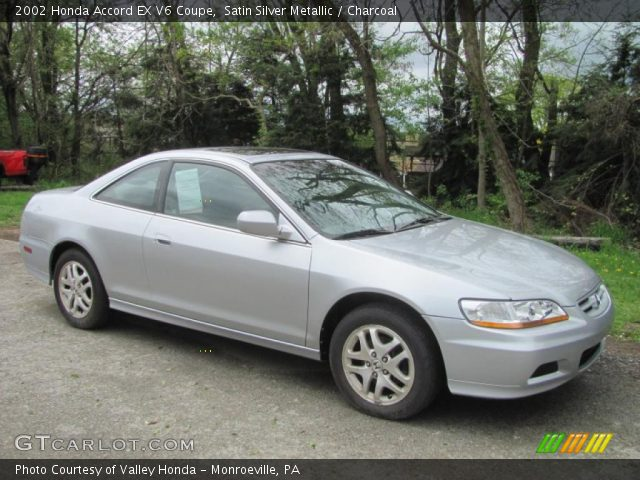 2002 honda accord ex v6 coupe in satin silver metallic for 2002 honda accord ex coupe