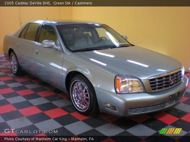 2005 Cadillac DeVille DHS in Green Silk
