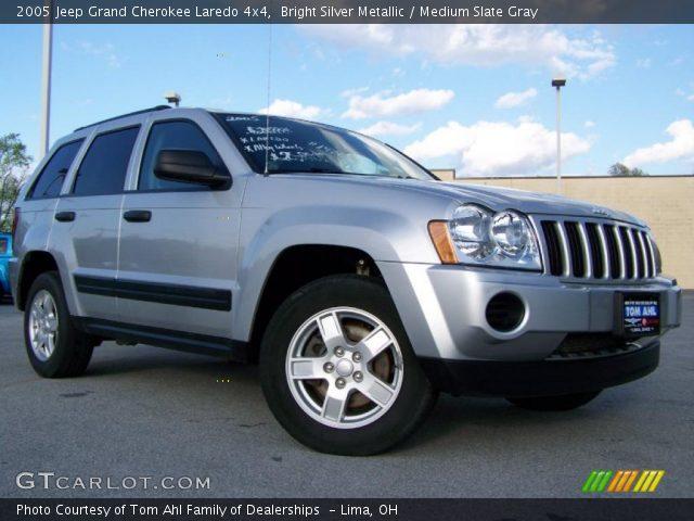 Bright silver metallic 2005 jeep grand cherokee laredo - 2005 jeep grand cherokee laredo interior ...