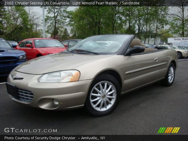 metallic 2002 chrysler sebring lxi convertible with sandstone interior. Cars Review. Best American Auto & Cars Review