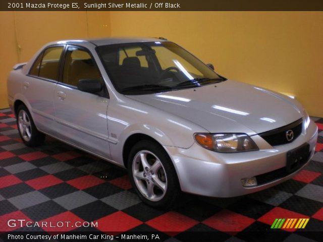 2001 Mazda Protege ES in Sunlight Silver Metallic