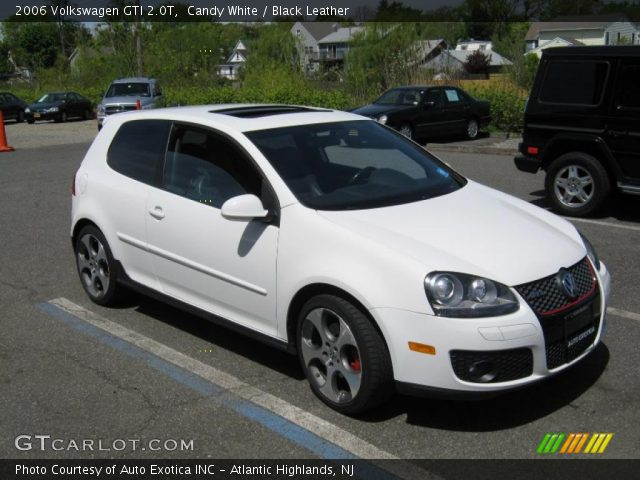 candy white 2006 volkswagen gti 2 0t black leather. Black Bedroom Furniture Sets. Home Design Ideas