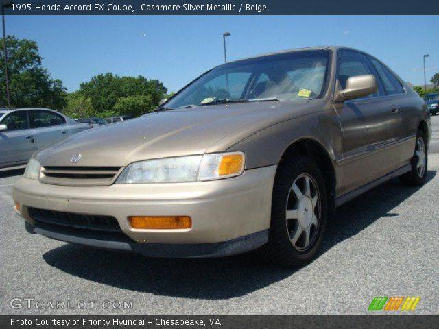 1995 Honda Accord EX Coupe in Cashmere Silver Metallic