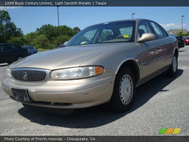 light sandrift metallic 1999 buick century limited. Black Bedroom Furniture Sets. Home Design Ideas