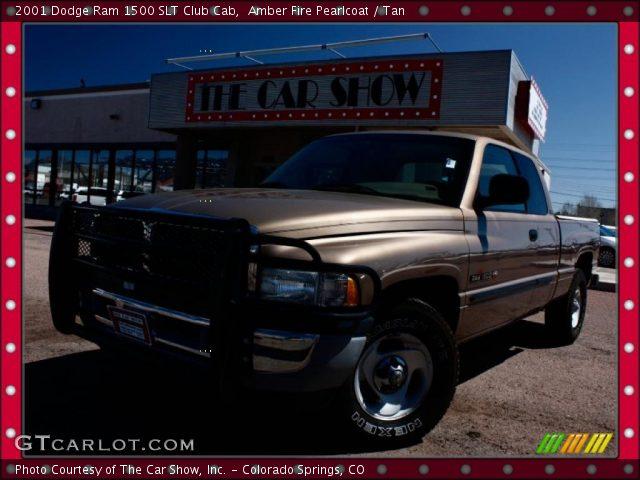 amber fire pearlcoat 2001 dodge ram 1500 slt club cab. Black Bedroom Furniture Sets. Home Design Ideas