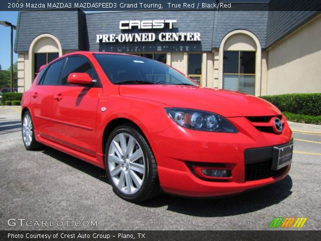 true red 2009 mazda mazda3 mazdaspeed3 grand touring. Black Bedroom Furniture Sets. Home Design Ideas