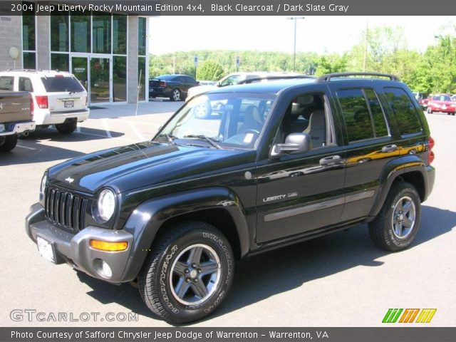 black clearcoat 2004 jeep liberty rocky mountain edition