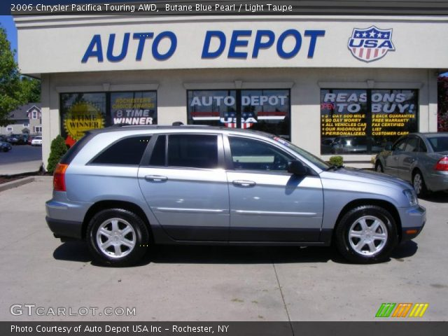 2006 Chrysler Pacifica Touring AWD in Butane Blue Pearl. Click to see ...