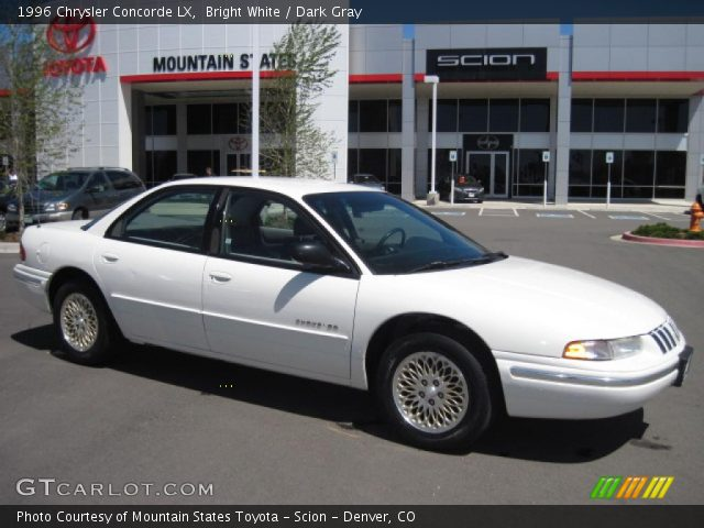 1996 Chrysler Concorde LX in Bright White. Click to see large photo.