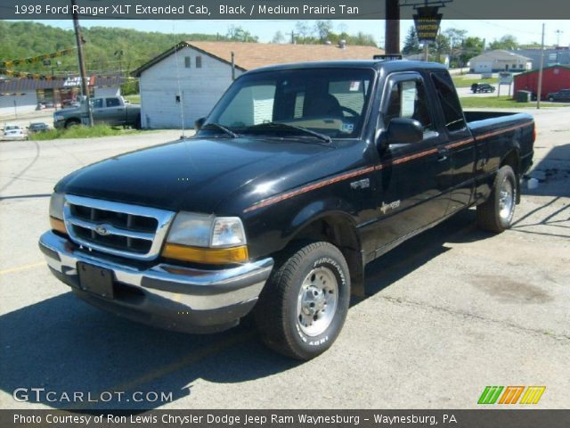 black 1998 ford ranger xlt extended cab medium prairie tan interior vehicle. Black Bedroom Furniture Sets. Home Design Ideas