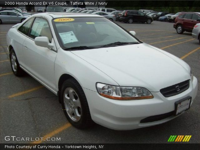 Taffeta White - 2000 Honda Accord EX V6 Coupe - Ivory ...