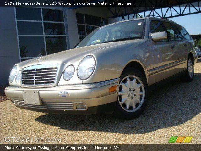 Smoke silver metallic 1999 mercedes benz e 320 wagon for 1999 mercedes benz wagon