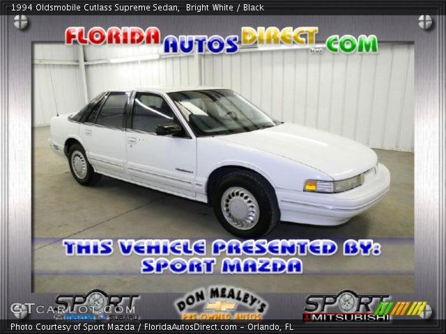 1994 Oldsmobile Cutlass Supreme Sedan in Bright White