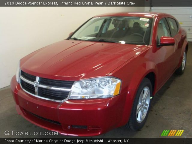 2010 Dodge Avenger Express in Inferno Red Crystal Pearl. Click to see ...