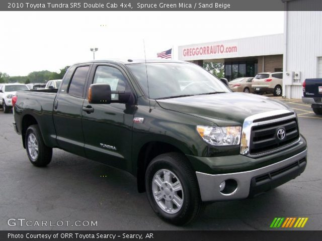 spruce green mica 2010 toyota tundra sr5 double cab 4x4. Black Bedroom Furniture Sets. Home Design Ideas