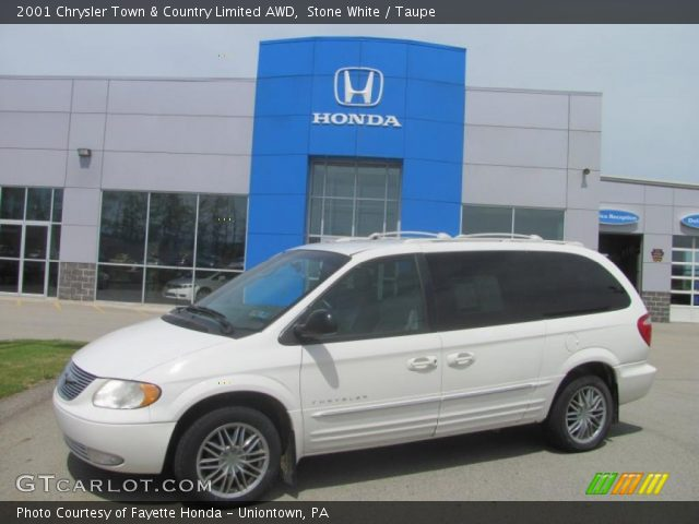 Stone white 2001 chrysler town country limited awd - 2001 chrysler town and country interior ...
