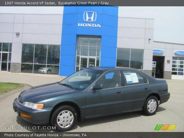 1997 Honda Accord VP Sedan in Eucalyptus Green Pearl