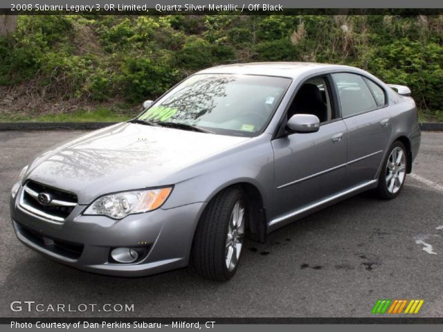 quartz silver metallic 2008 subaru legacy 3 0r limited. Black Bedroom Furniture Sets. Home Design Ideas