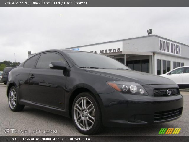 Black Sand Pearl 2009 Scion tC with Dark Charcoal interior 2009 Scion tC in