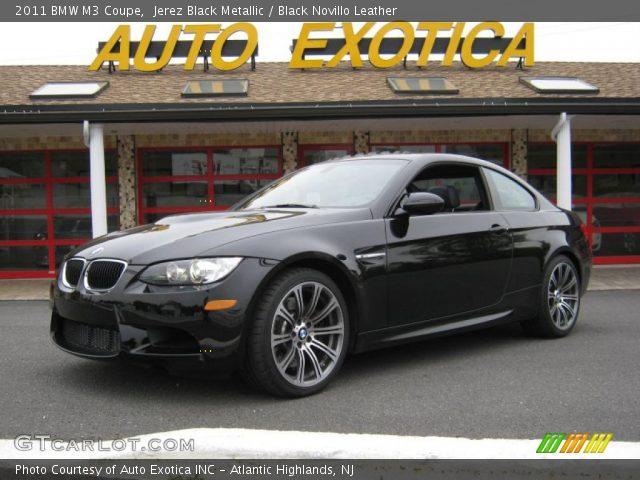 Jerez Black Metallic - 2011 BMW M3 Coupe - Black Novillo ...  Jerez Black Met...
