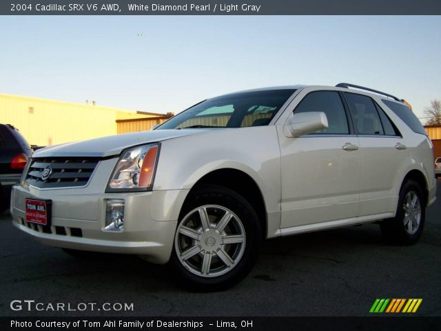 2004 Cadillac SRX V6 AWD in White Diamond Pearl