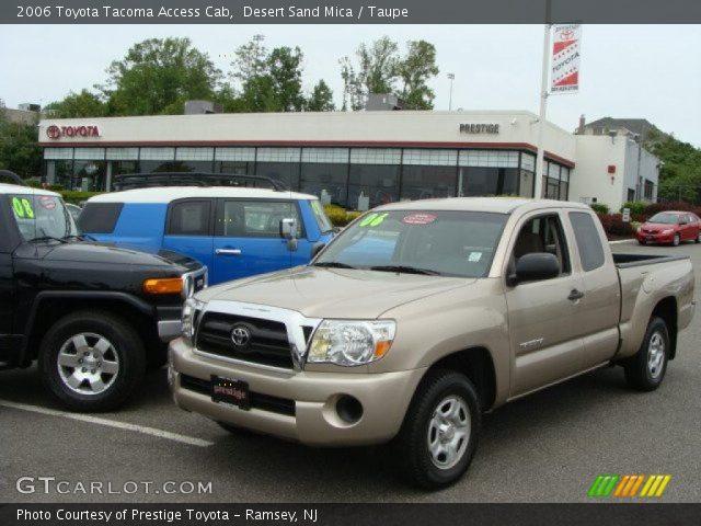 desert sand mica 2006 toyota tacoma access cab taupe interior vehicle. Black Bedroom Furniture Sets. Home Design Ideas