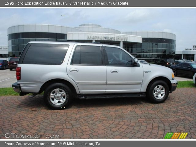 silver metallic 1999 ford expedition eddie bauer medium graphite interior. Black Bedroom Furniture Sets. Home Design Ideas