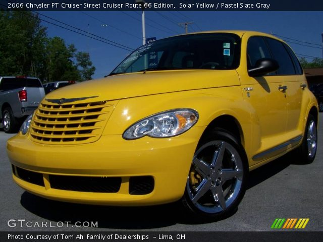 solar yellow 2006 chrysler pt cruiser street cruiser. Black Bedroom Furniture Sets. Home Design Ideas