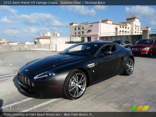 2010 Aston Martin V8 Vantage Coupe in Quantum Silver