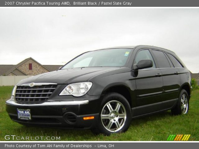 brilliant black 2007 chrysler pacifica touring awd. Black Bedroom Furniture Sets. Home Design Ideas