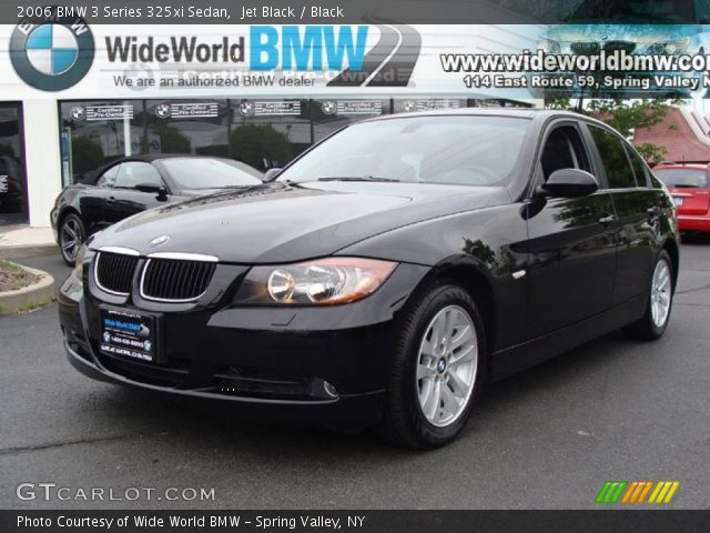 jet black 2006 bmw 3 series 325xi sedan black interior vehicle archive. Black Bedroom Furniture Sets. Home Design Ideas