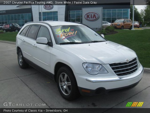 stone white 2007 chrysler pacifica touring awd pastel. Black Bedroom Furniture Sets. Home Design Ideas