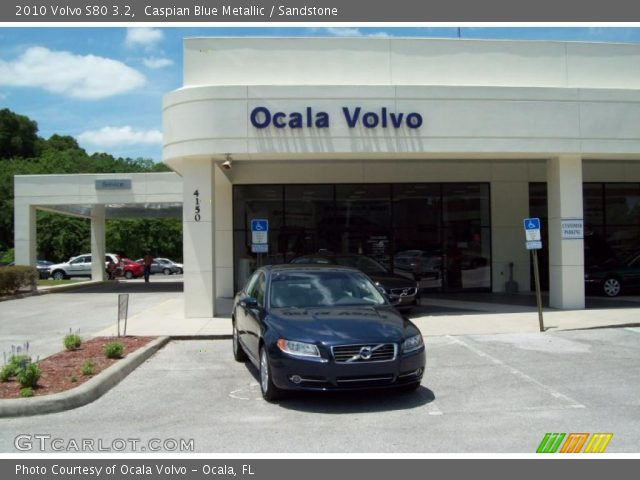 2010 Volvo S80 3.2 in Caspian Blue Metallic