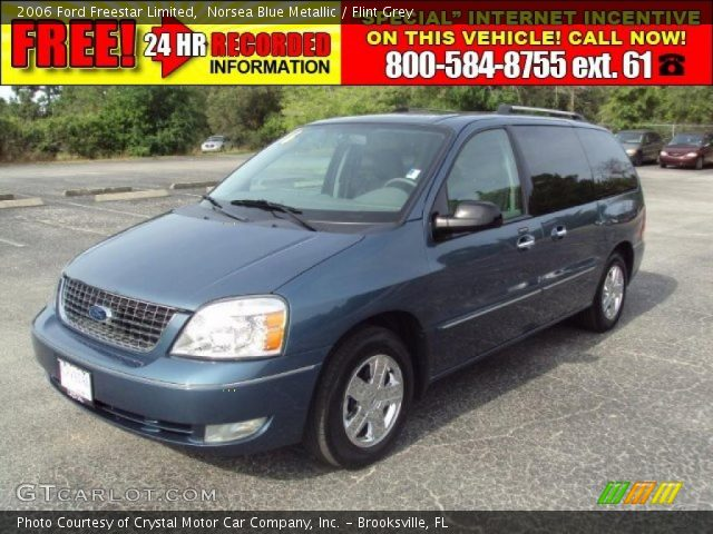 2006 Ford Freestar. Norsea Blue Metallic 2006 Ford