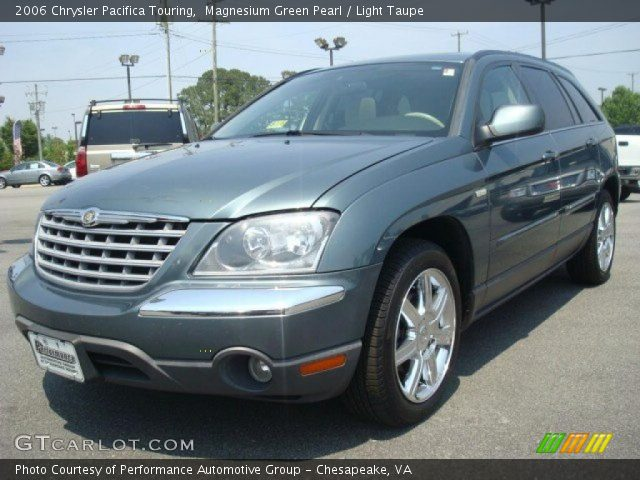 2006 Chrysler Pacifica Touring in Magnesium Green Pearl. Click to see ...