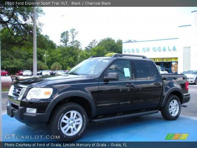 black 2010 ford explorer sport trac xlt charcoal black interior vehicle. Black Bedroom Furniture Sets. Home Design Ideas
