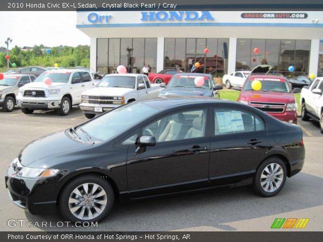 Honda Civic 2010 Black. Crystal Black Pearl 2010 Honda