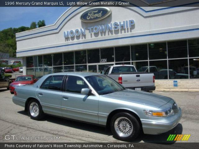 light willow green metallic 1996 mercury grand marquis. Black Bedroom Furniture Sets. Home Design Ideas