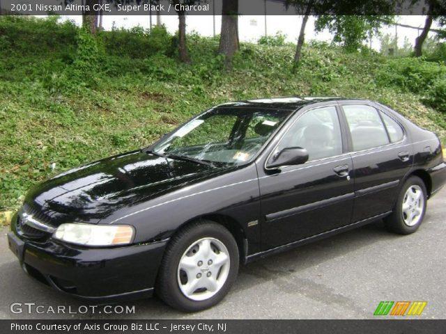 2001 Nissan Altima GXE In Super Black