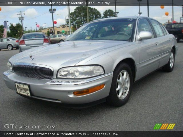 2000 buick park avenue in sterling silver metallic click to see large. Black Bedroom Furniture Sets. Home Design Ideas