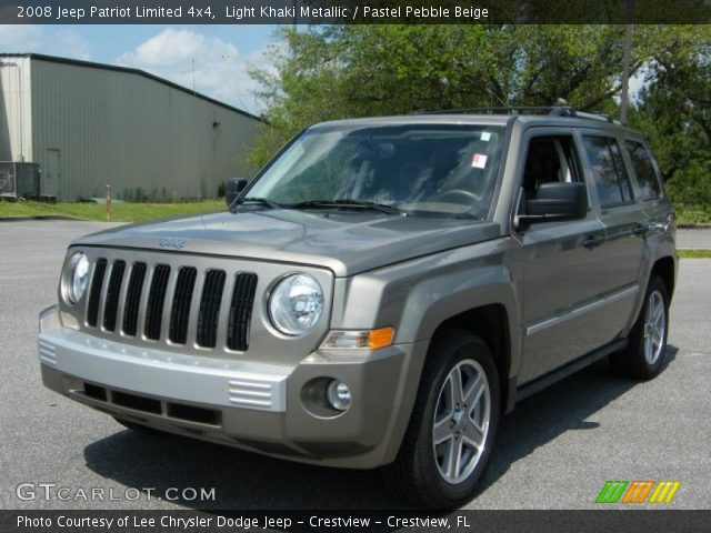 light khaki metallic 2008 jeep patriot limited 4x4. Black Bedroom Furniture Sets. Home Design Ideas