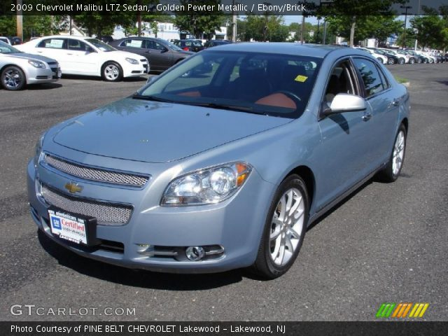 golden pewter metallic 2009 chevrolet malibu ltz sedan. Black Bedroom Furniture Sets. Home Design Ideas