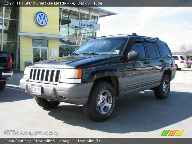 Black 1997 jeep grand cherokee laredo 4x4 taupe - 1997 jeep grand cherokee interior ...