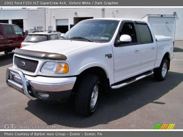 oxford white 2002 ford f150 xlt supercrew 4x4 dark. Black Bedroom Furniture Sets. Home Design Ideas