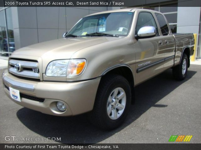 desert sand mica 2006 toyota tundra sr5 access cab taupe interior vehicle. Black Bedroom Furniture Sets. Home Design Ideas