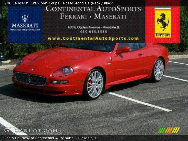 2005 Maserati GranSport Coupe in Rosso Mondiale (Red)