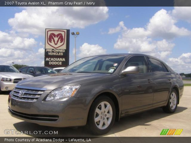 Phantom Gray Pearl - 2007 Toyota Avalon XL - Ivory Interior | GTCarLot ...