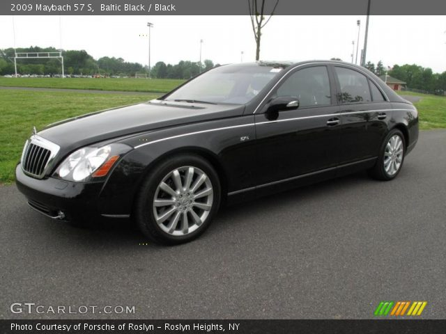 2009 Maybach 57 S in Baltic Black